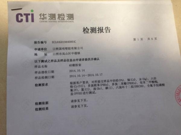 CTI 检验报告